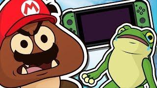 Super Mario Odyssey - The Lonely Goomba
