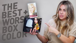 The Best + Worst Box Hair Color!