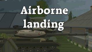 World of Tanks cartoon. Episode 4: Airborne landing.