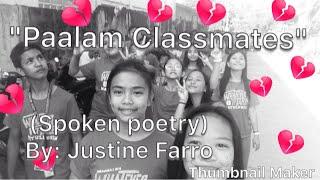 Tagalog Spoken Poetry - 123Vid