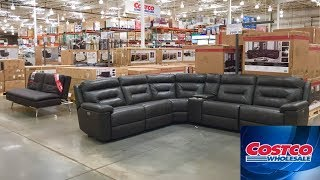 COSTCO FURNITURE SOFAS ARMCHAIRS CHAIRS COUCHES 2020 SHOP WITH ME SHOPPING STORE WALK THROUGH 4K