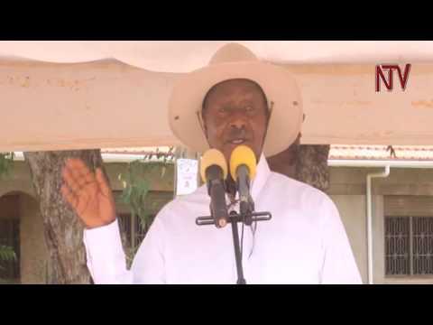 Museveni agguddewo oluguudo e Soroti, agabye ebyapa