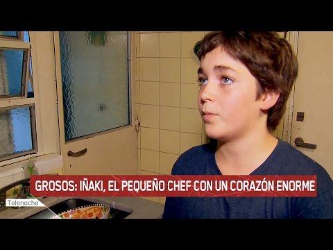 Grosos: Iñaki, el pequeño chef con un corazón enorme