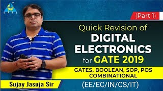 Quick Revision of Digital Electronics for GATE 2019 | Part 1