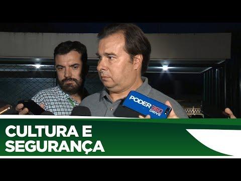 Rodrigo Maia comenta recriação de ministérios - 23/01/2020