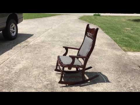 Restoration of antique rocking chair & Haunted rocking chair