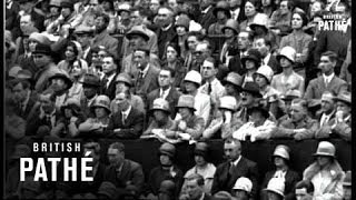 Thrilling Tennis For Worlds Championship (1928)