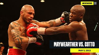 FULL FIGHT   Floyd Mayweather vs. Miguel Cotto (DAZN REWIND)