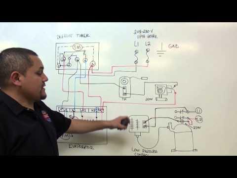 Refrigeracion, Temporizador de descongelacion, defrost timer.