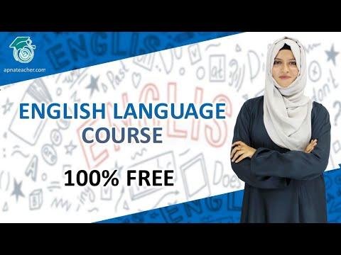 English Language Full Course 100% Free