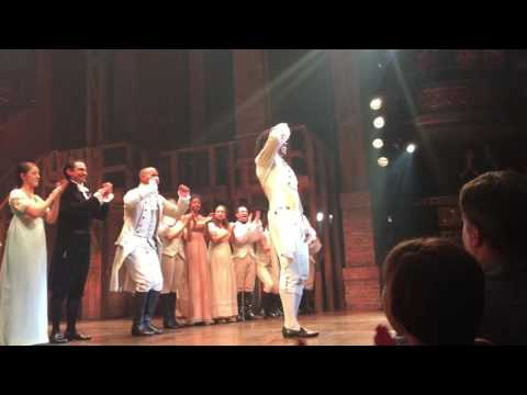 Daveed Diggs last Hamilton curtain call (July 15, 2016)