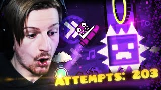 THIS WAS SO WORTH IT.    Geometry Dash (Part 5)