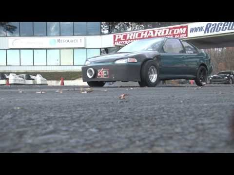 Nyce1s - Brandon's Low Budget Tuning All Motor K-Series Civic @ E-Town...