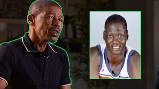 Muggsy Bogues talks about Manute Bol on how great he was
