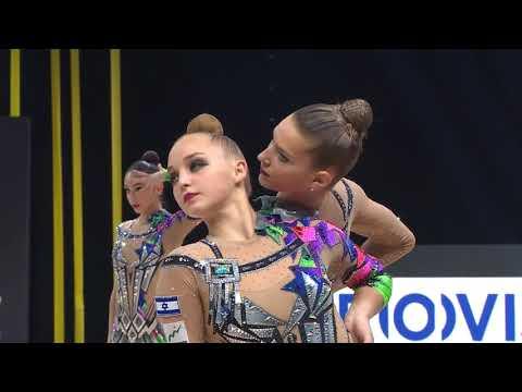 מופע מדהים של נבחרת ישראל בהתעמלות אמנותית מאליפות אירופה 2020