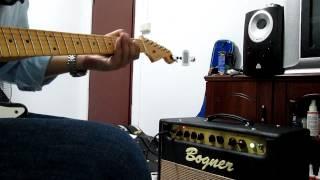 Little Wing Intro / Fender 1958 Relic Strat Namm 2011 / Bogner Duende