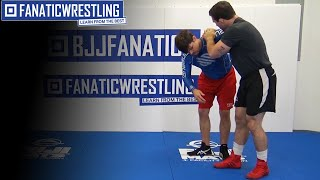 High Level Attack to Underhook – Wrestling Techniques by Gabe Dean