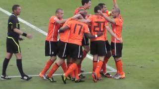 Doelpunt nummer 2 Nederland Denemarken wk 2010 Zuid Afrika