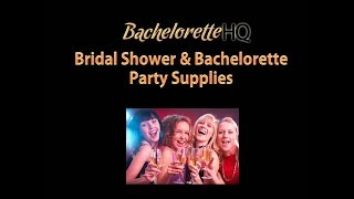 Bachelorette Party Supplies - Decorations And Balloons