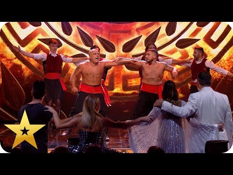 FIRST LOOK: Stavros Flatley get their GREEK on for the Final! | BGT: The Champions