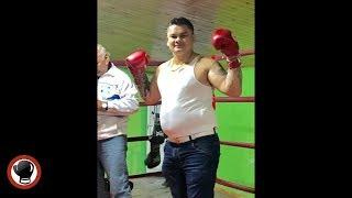 """HOLY CRAP"" Robert Garcia Reaction To Maidana Working Mitts Video EsNews Boxing"
