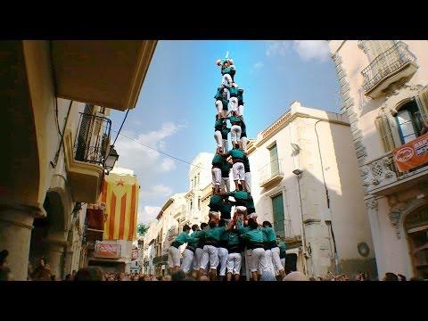 Castellers de Vilafranca 4d9f l'Arboç aniversari Minyons 2014  Josep Giménez