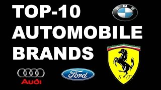 Top 10 Automobile companies in the world 2016