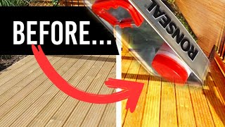 Ronseal Ultimate Protection Natural Review - Decking Oil Step by Step