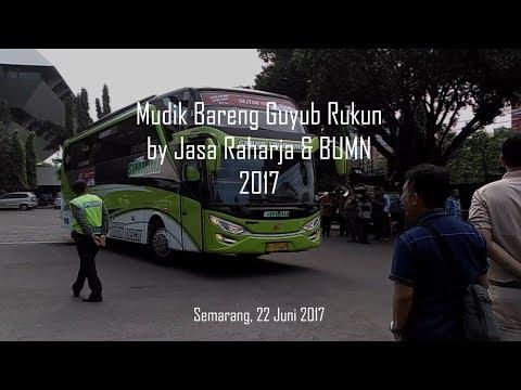 Video Mudik Bareng 2017 oleh Jasa Raharja & BUMN | PO SUBUR JAYA SHD