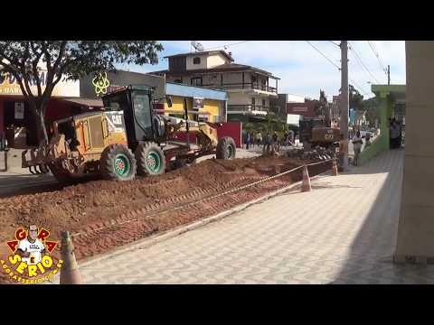 Obra na rua do Hospital está sendo realizada a todo vapor no Governo Ayres Scorsatto