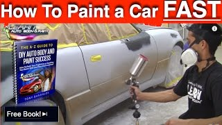How To Paint Any Car Yourself - Step-by-Step Car Painting in 12 Minutes!