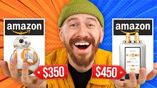 I Bought The MOST EXPENSIVE Items On Amazon!!