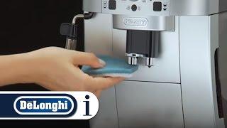 Кофемашина автоматическая Delonghi Magnifica S ECAM 22.110. SB от компании Cthp - видео 2