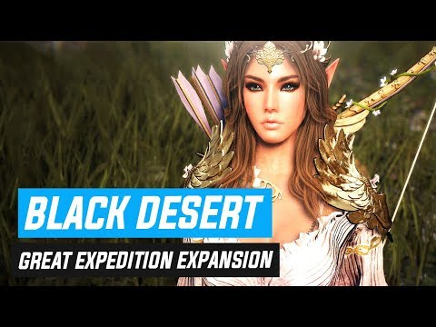 """So.. Black Desert's Latest """"Great Expedition"""" Update, huh?"""