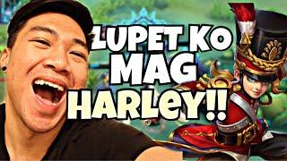 LUPIT KO MAG HARLEY!!MOBILE LEGENDS 2018