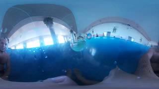Underwater case/box (waterproof case) Samsung gear 360 (2016)(Подводный бокс) ч.2 (part 2)