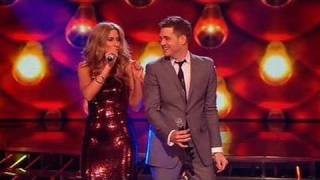 The X Factor 2009 - Stacey & Michael Buble: Feeling Good - Live Show 10 (itv.com/xfactor)