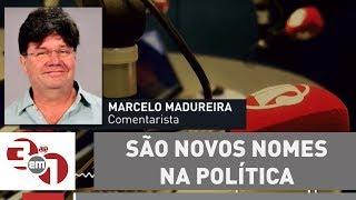 """Marcelo Madureira: """"São novos nomes na política. Todo cidadão tem o direito de se candidatar"""""""