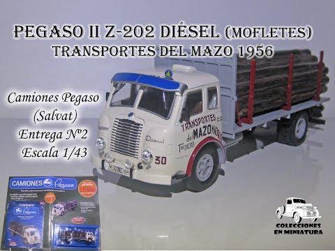 Nº2  - Pegaso II Z 202 Diesel Forestal - Camiones Pegaso - SALVAT -  1/43