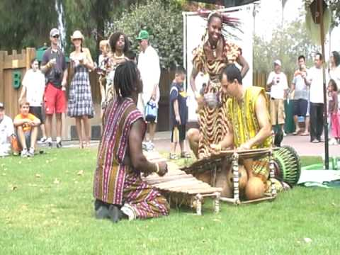 Ballet Djelia Kadi Performance - Drum, Dance & Balafon!!