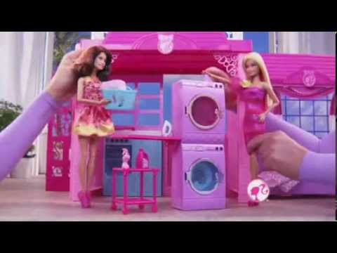 Mattel Barbie Glam Vacation  House & Glam Convertible