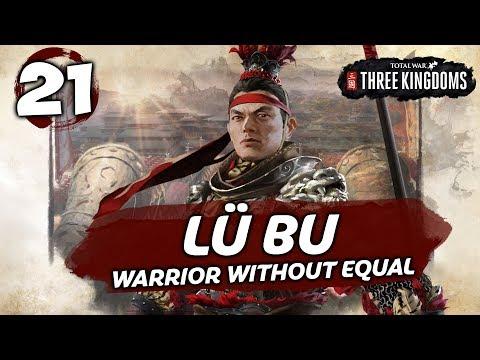 THE IRON FIST ATTACKS! Total War: Three Kingdoms - Lü Bu - Romance Campaign #21