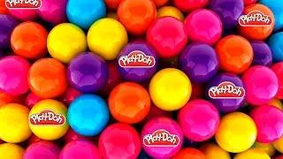 Play Doh Surprise Eggs Playdo Peppa Pig Plastilina Huevos Sorpresa