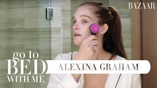Victoria's Secret Model Alexina Graham's Nighttime Skincare Routine   Go To Bed With Me