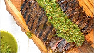 Easy Flank Steak Recipe – Grilled Stovetop Steak