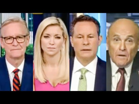 Fox & Friends Stare in Horror As Giuliani Incoherently Rants Against Biden