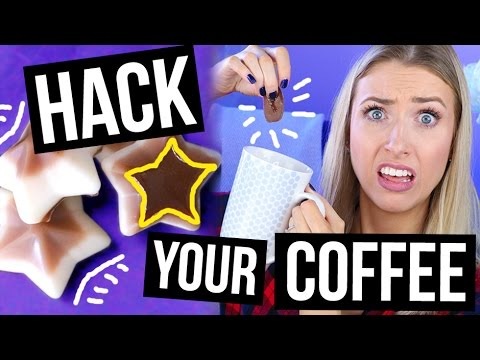 Pinterest LIFE HACKS TESTED: COFFEE Edition || What Worked & What DIDN'T