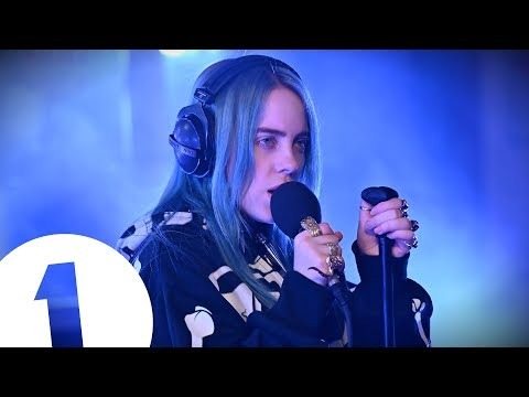 Billie Eilish - when the party's over on Radio 1
