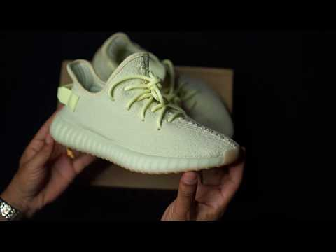 5e9eeaf51c0f1 Adidas Yeezy Boost 350V2 Butter Sneaker Pickup and Unboxing ...