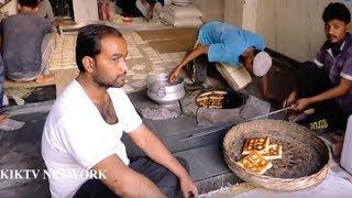 100 year's Old Nizam Special Naan Roti || Indian Street Food || KIKTV Network